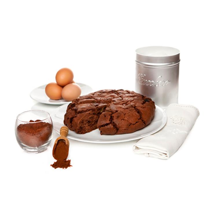 Ricetta pandolce genovese al cacao amaro